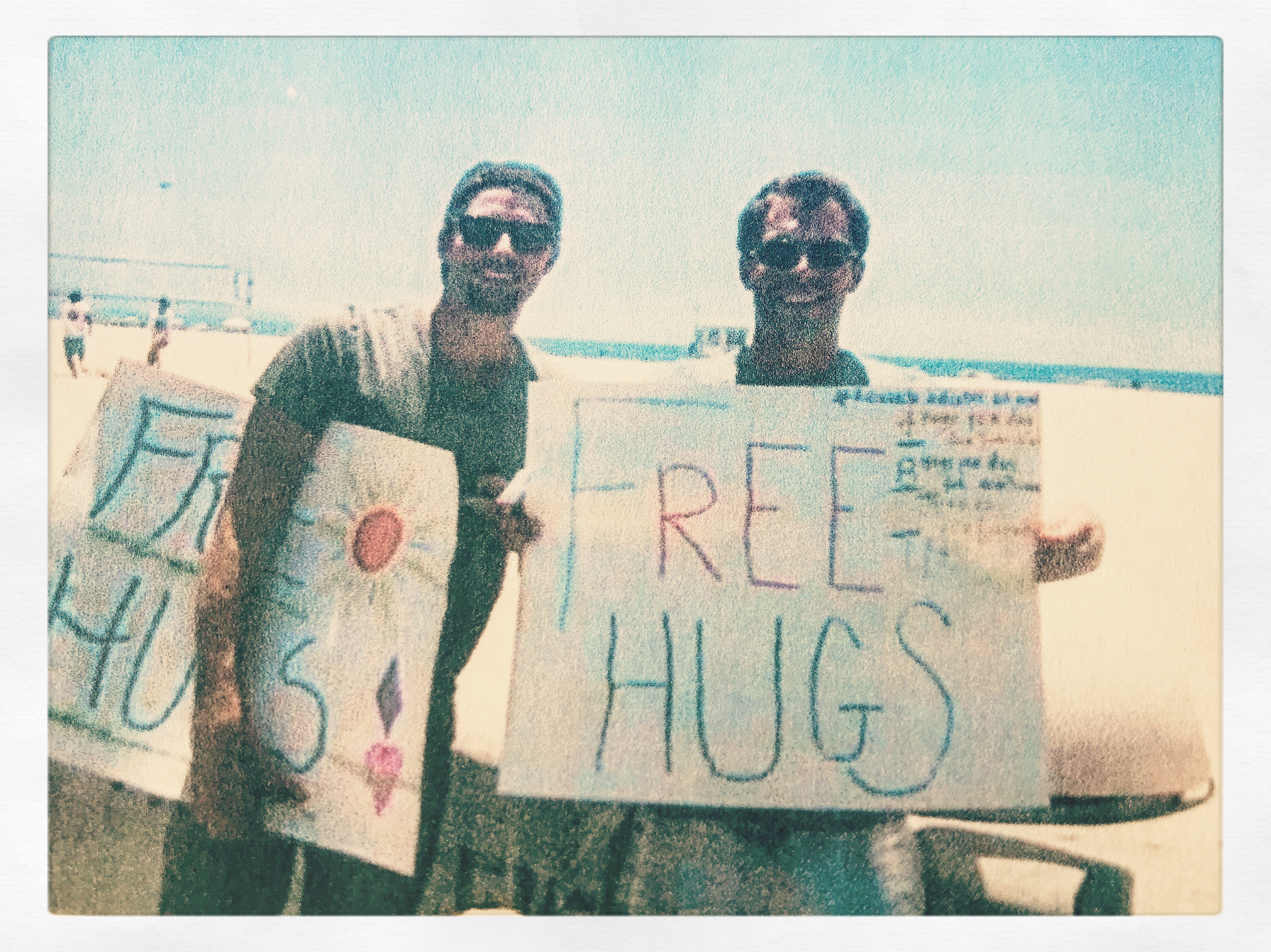 77955115350a How to Give Free Hugs: A Case Study in Being Wholly and Fully Present.